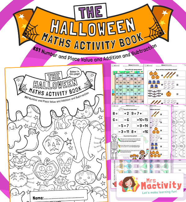 KS1 Halloween Maths Activity Booklet