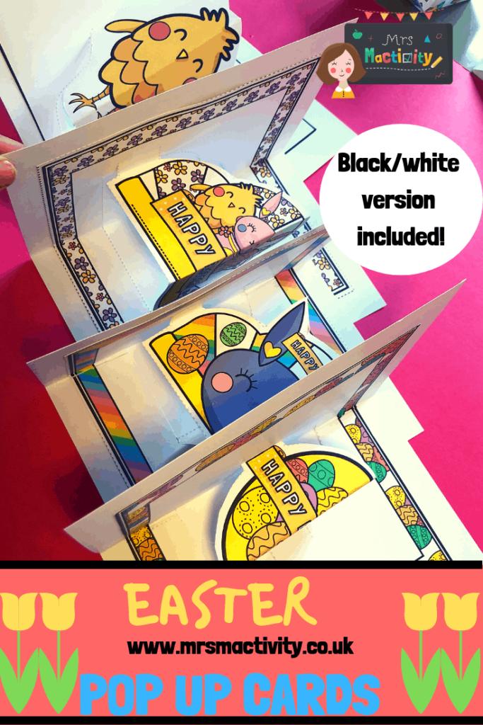 Easter pop up cards