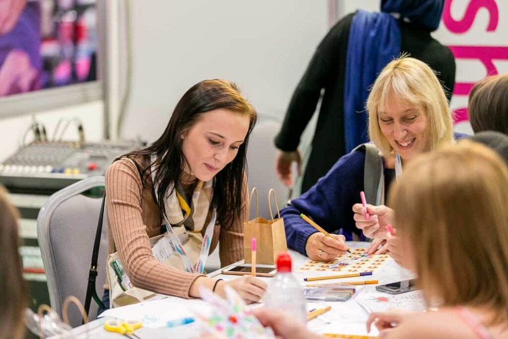 Mrs Mactivity childcare expo london