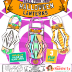 Halloween Lantern Template