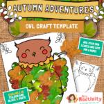 Owl Leaf Craft Activity