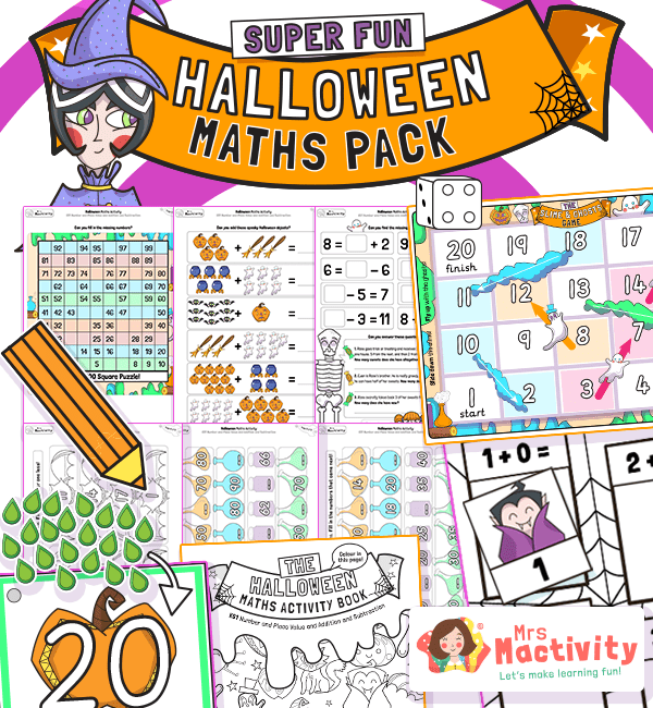 Halloween Maths Resource Pack