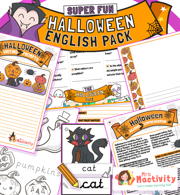 Halloween English Resource Pack