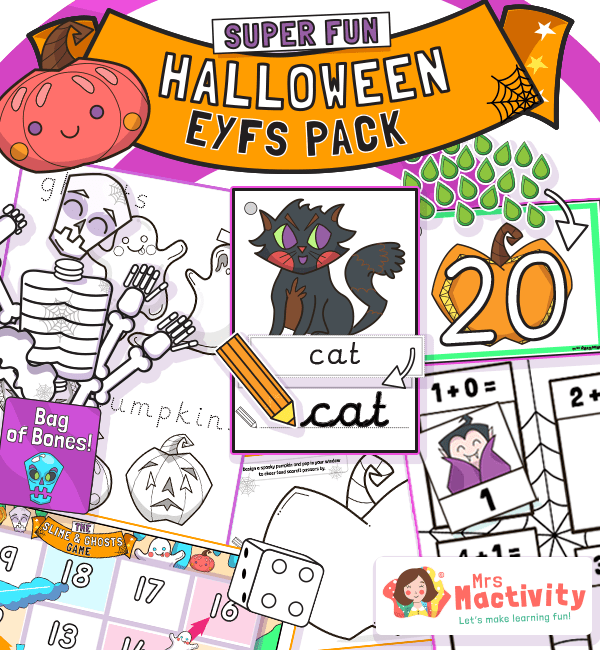 Halloween EYFS Resource Pack§