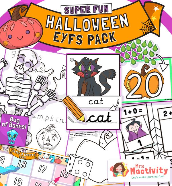 Halloween EYFS Resource Pack§