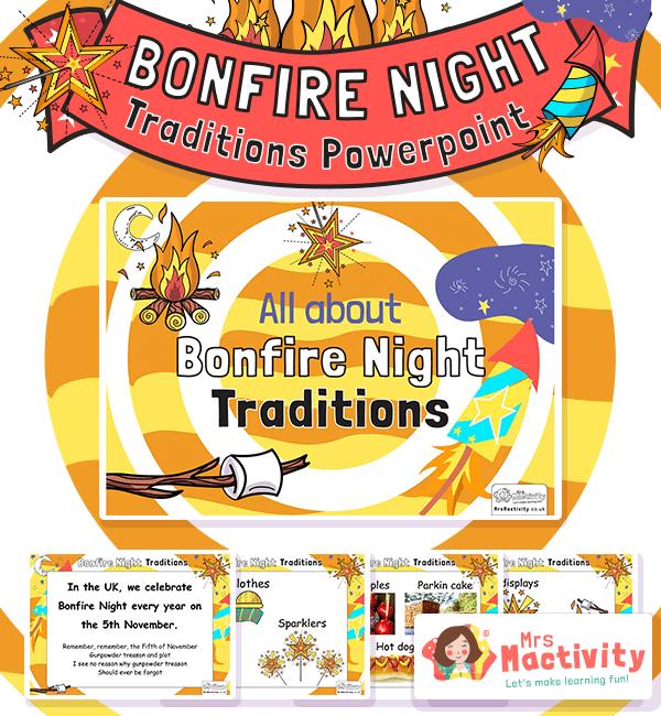 EYFS Bonfire Night Traditions Editable PowerPoint