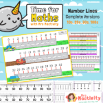Number Lines Resource Pack