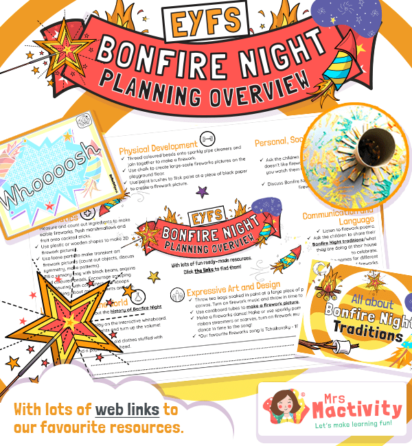 EYFS Bonfire Night Planning Overview