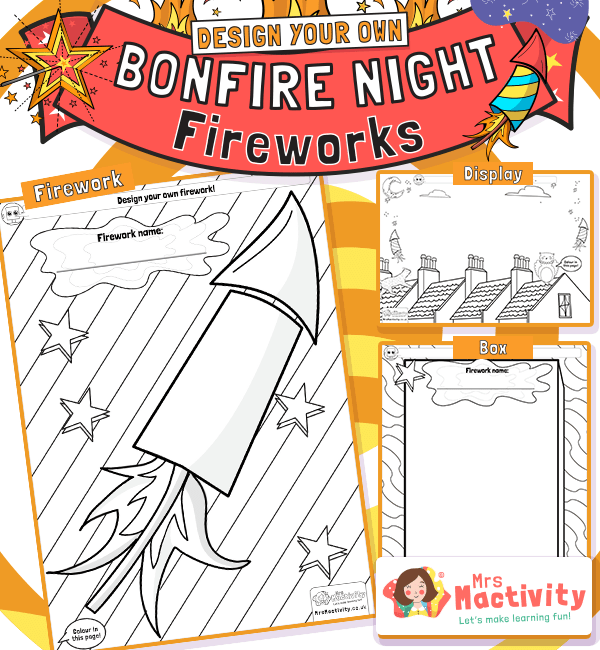 Design Your Own Firework Activity