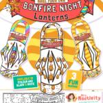 Bonfire Night Lantern Craft