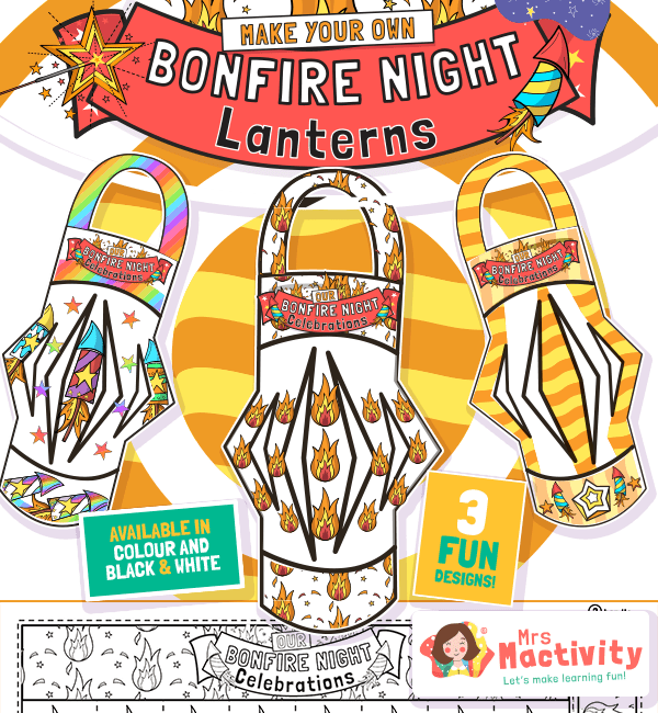 Bonfire Night Lantern Craft