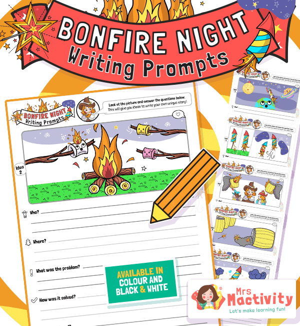 Bonfire Night Writing Prompts