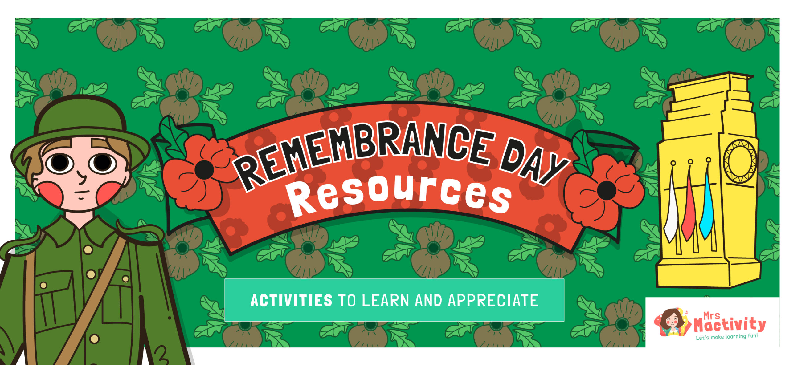 Remembrance Day Crafts and Teaching Resources
