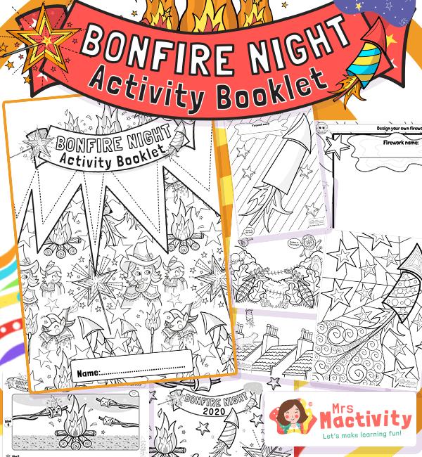 Bonfire Night Activity Booklet