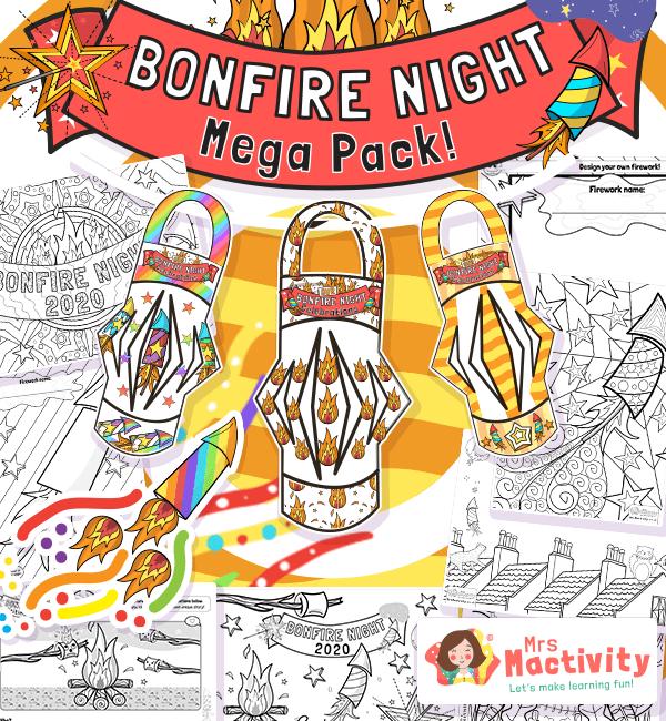 Bonfire Night Mega Activity Pack