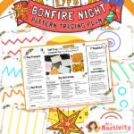 EYFS Bonfire Night Pattern Tracing Plan