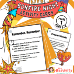 EYFS Phase 1 Bonfire Night Activity Cards