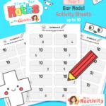 KS1 Bar Model Activity Sheets to 10