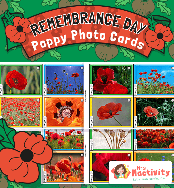 Remembrance Day Poppy Photo Cards