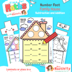 Number Facts Family House Activity