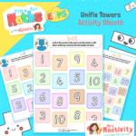 Unifix Towers Activity Sheet