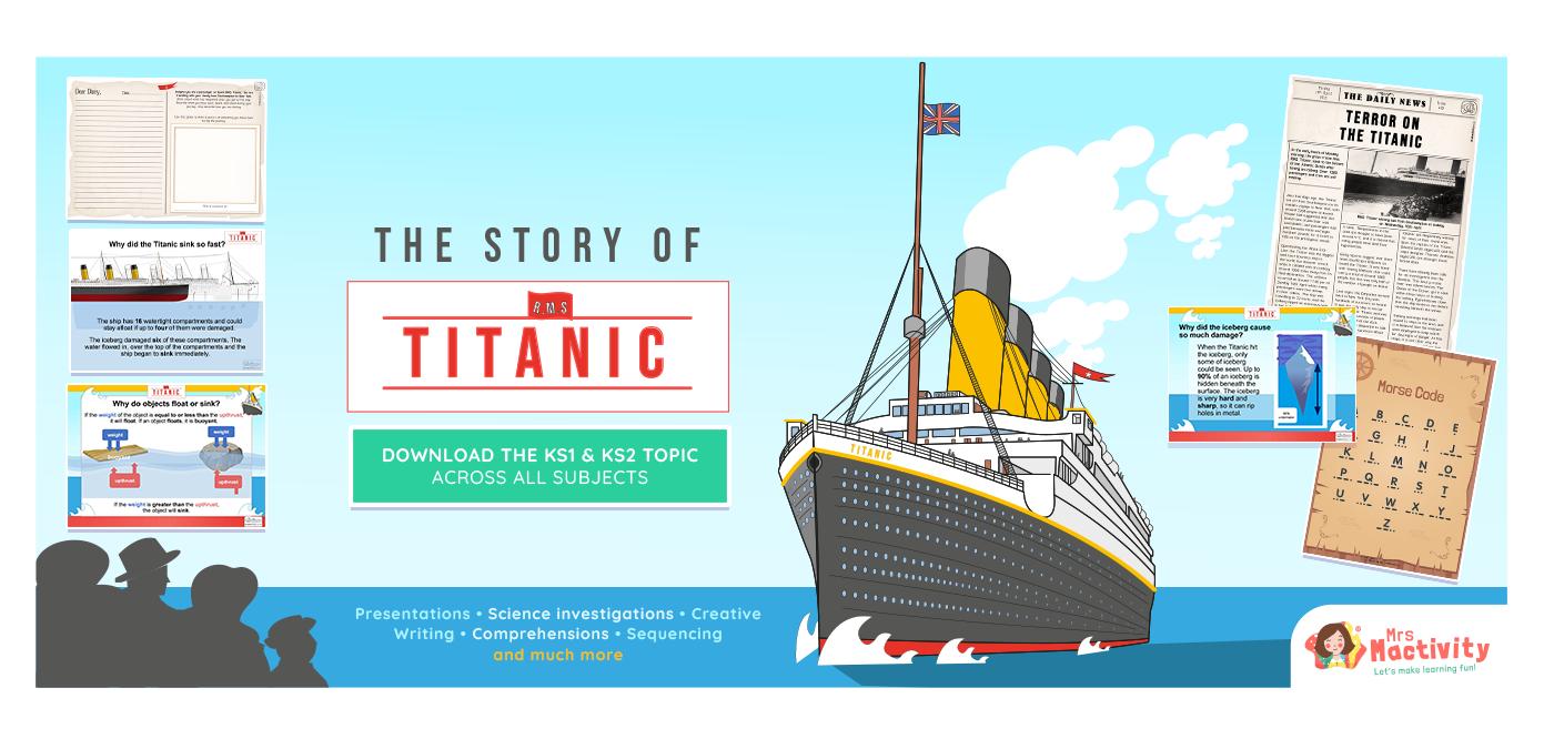 Titanic classroom resources