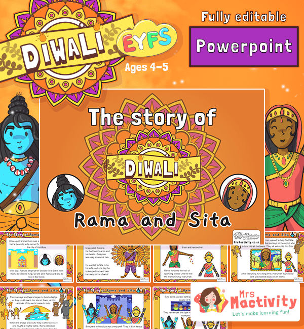 The Story of Rama and Sita Diwali PowerPoint