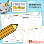 Design a Weekly Timetable Activity