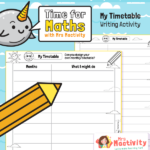 Design a Monthly Timetable Activity