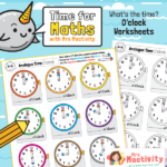 Telling the Time to the Hour Worksheet
