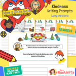 KS2 Give a Little Love Kindness Writing Prompts