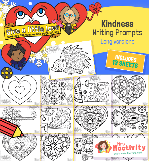 Give a Little Love Mindfulness Colouring