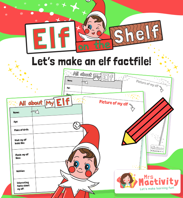 Elf on the Shelf Factfile Activity