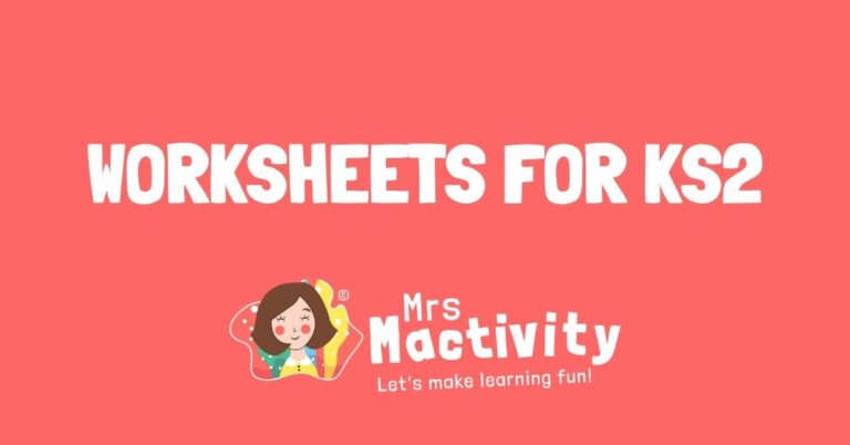 worksheets for KS2