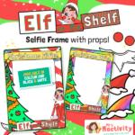 "Elf on the Shelf ""Elfie"" Frames"