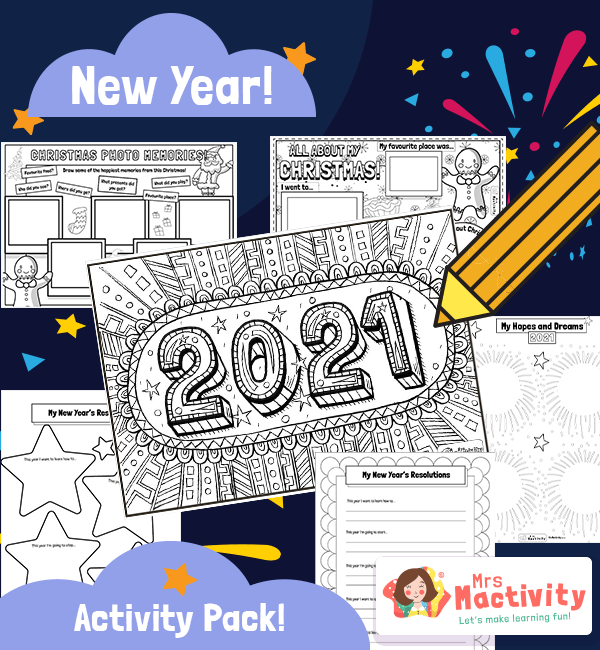 2021 New Year Activity Booklet
