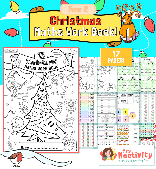 Year 2 Christmas Maths Activity Booklet