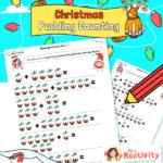 Christmas Pudding Addition Within 10 Worksheet