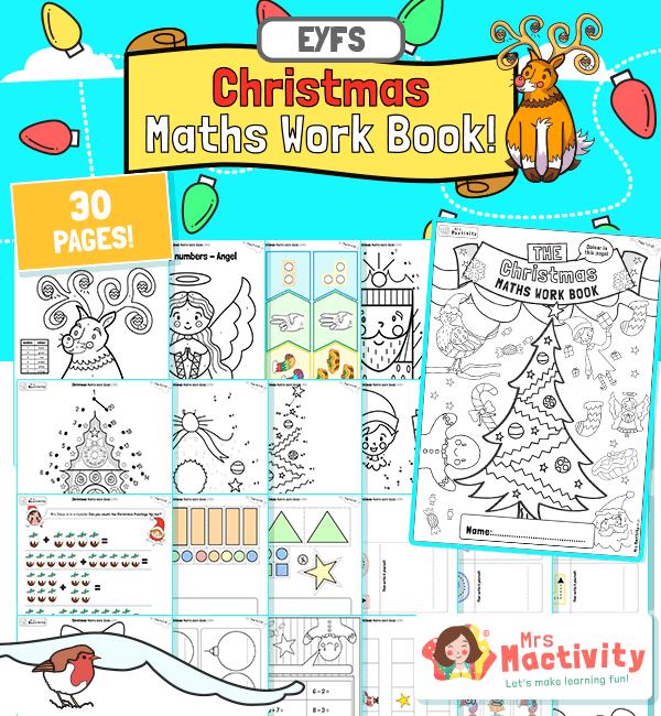 EYFS Christmas Maths Activity Booklet