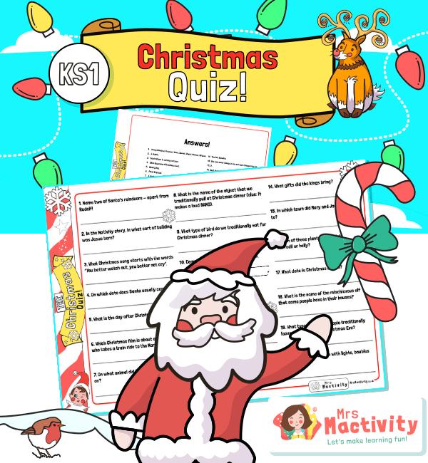 KS1 Christmas Quiz for Kids