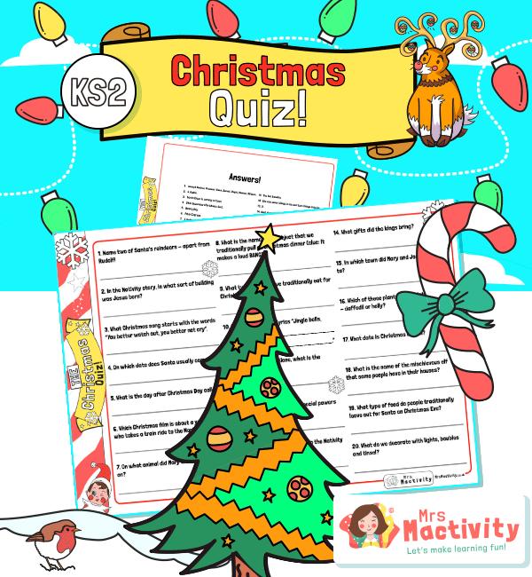 KS2 Christmas Quiz for Kids