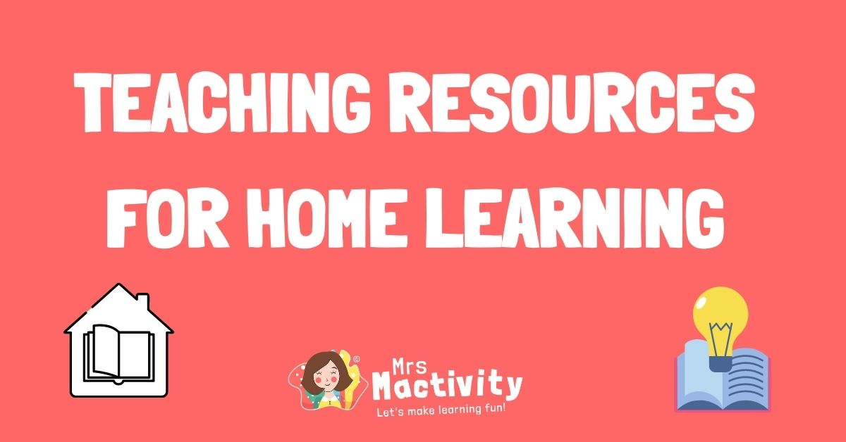 Teaching resources for home learning