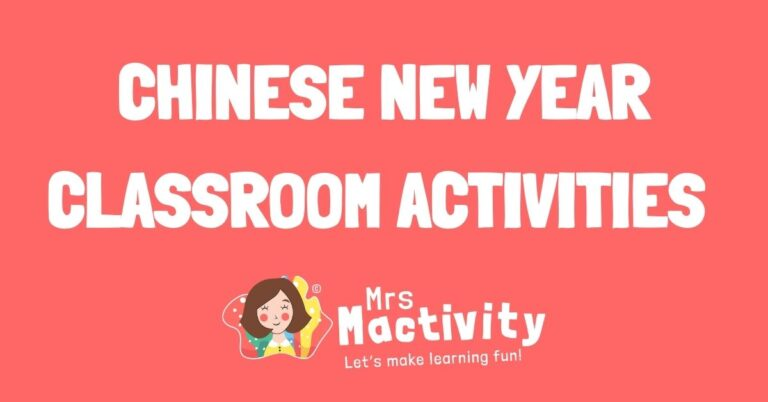 Chinese New Year classroom activities