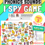 Challenge children to find the phase 2 sounds in this super duper Phase 3 (Age 4-5)) I Spy Game.Packed full of fun and easy to identify objects,