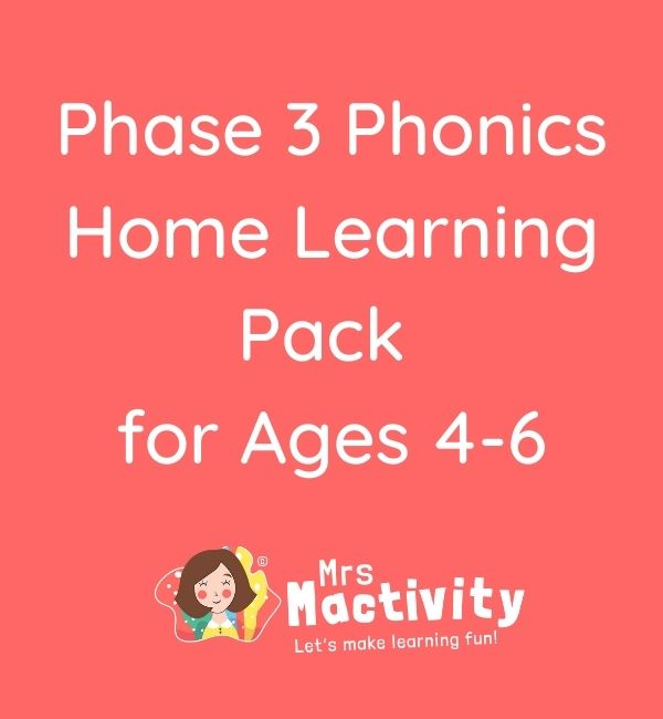 phase 3 phonics home learning resources