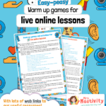 Live lessons warm up games