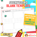 English Writing Storyboard Template
