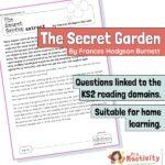 Year 4 Reading Comprehension - The Secret Garden