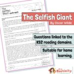 Year 3 Reading Comprehension - The Selfish Giant