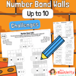 Number Bonds to 10 Practice Worksheets